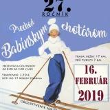 PRECHOD BABÍNSKYM CHOTÁROM 16.2.2019