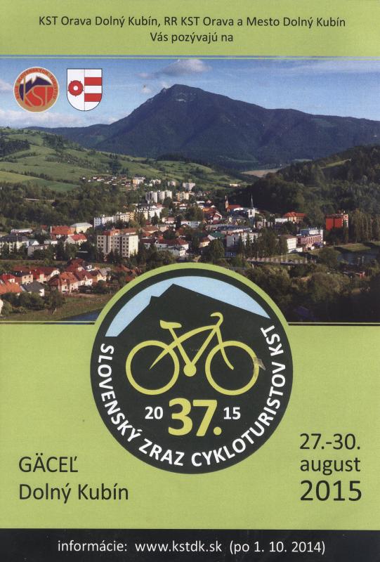 37. Slovenský zraz cykloturistov