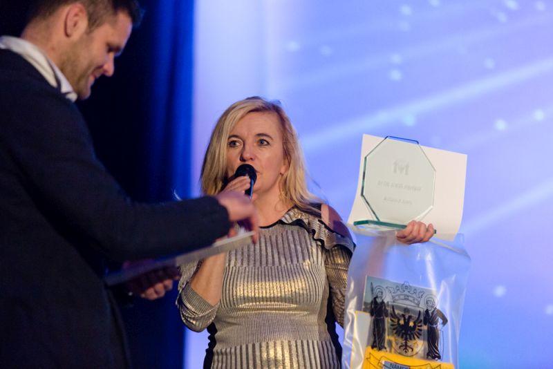 TRÉNERKA ROKA 2016 ocenená v Námestove - JANA IVANOVÁ